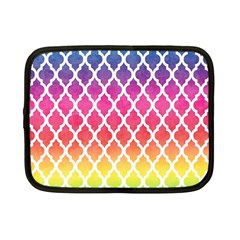 Colorful Rainbow Moroccan Pattern Netbook Case (small)