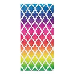 Colorful Rainbow Moroccan Pattern Shower Curtain 36  X 72  (stall)  by BangZart