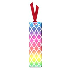 Colorful Rainbow Moroccan Pattern Small Book Marks