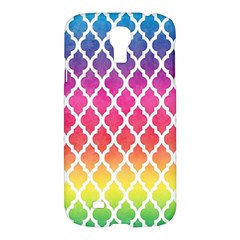 Colorful Rainbow Moroccan Pattern Samsung Galaxy S4 I9500/i9505 Hardshell Case