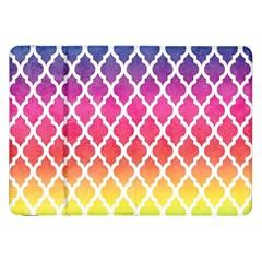Colorful Rainbow Moroccan Pattern Samsung Galaxy Tab 8 9  P7300 Flip Case