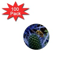 Chihuly Garden Bumble 1  Mini Magnets (100 Pack)