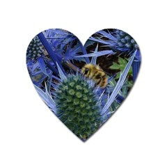 Chihuly Garden Bumble Heart Magnet