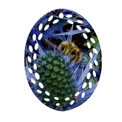 Chihuly Garden Bumble Ornament (oval Filigree)