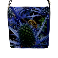 Chihuly Garden Bumble Flap Messenger Bag (l)