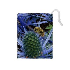 Chihuly Garden Bumble Drawstring Pouches (medium)