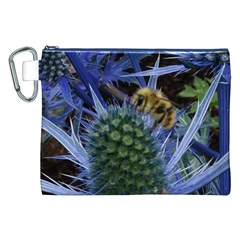 Chihuly Garden Bumble Canvas Cosmetic Bag (xxl) by BangZart