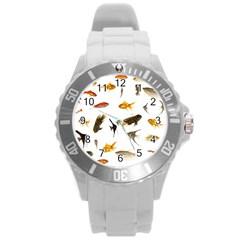 Goldfish Round Plastic Sport Watch (l)