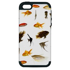 Goldfish Apple Iphone 5 Hardshell Case (pc+silicone)