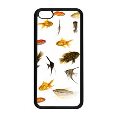 Goldfish Apple Iphone 5c Seamless Case (black) by BangZart