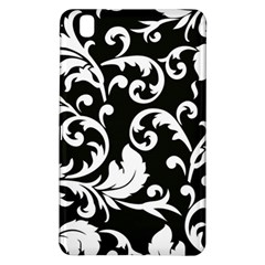 Vector Classicaltr Aditional Black And White Floral Patterns Samsung Galaxy Tab Pro 8 4 Hardshell Case by BangZart