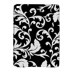 Vector Classicaltr Aditional Black And White Floral Patterns Ipad Air 2 Hardshell Cases