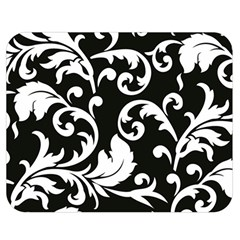 Vector Classicaltr Aditional Black And White Floral Patterns Double Sided Flano Blanket (medium)  by BangZart
