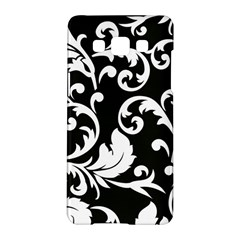 Vector Classicaltr Aditional Black And White Floral Patterns Samsung Galaxy A5 Hardshell Case