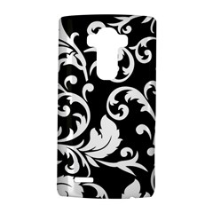 Vector Classicaltr Aditional Black And White Floral Patterns Lg G4 Hardshell Case