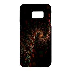 Multicolor Fractals Digital Art Design Samsung Galaxy S7 Hardshell Case