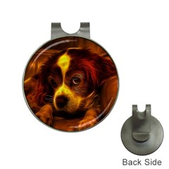 Cute 3d Dog Hat Clips With Golf Markers