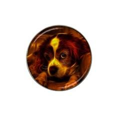 Cute 3d Dog Hat Clip Ball Marker