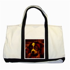 Cute 3d Dog Two Tone Tote Bag