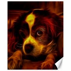 Cute 3d Dog Canvas 16  X 20