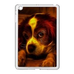 Cute 3d Dog Apple Ipad Mini Case (white)