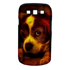 Cute 3d Dog Samsung Galaxy S Iii Classic Hardshell Case (pc+silicone) by BangZart