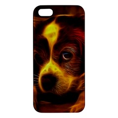 Cute 3d Dog Iphone 5s/ Se Premium Hardshell Case