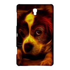 Cute 3d Dog Samsung Galaxy Tab S (8 4 ) Hardshell Case