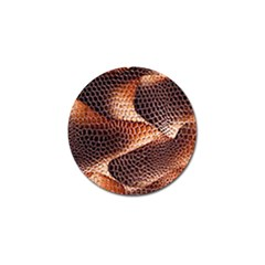 Snake Python Skin Pattern Golf Ball Marker (10 Pack) by BangZart