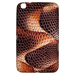 Snake Python Skin Pattern Samsung Galaxy Tab 3 (8 ) T3100 Hardshell Case  by BangZart