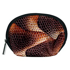 Snake Python Skin Pattern Accessory Pouches (medium)