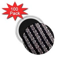 Batik Jarik Parang 1 75  Magnets (100 Pack)