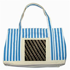 Batik Jarik Parang Striped Blue Tote Bag
