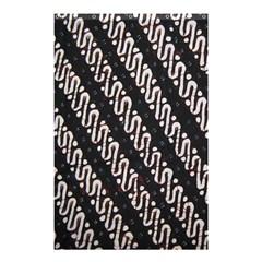 Batik Jarik Parang Shower Curtain 48  X 72  (small)