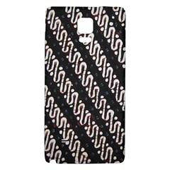 Batik Jarik Parang Galaxy Note 4 Back Case