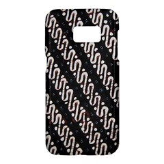 Batik Jarik Parang Samsung Galaxy S7 Hardshell Case  by BangZart