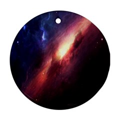 Digital Space Universe Ornament (round)