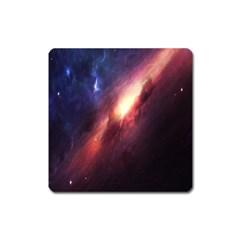 Digital Space Universe Square Magnet