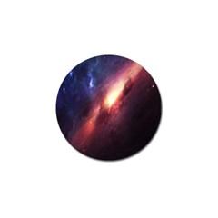 Digital Space Universe Golf Ball Marker by BangZart