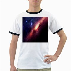 Digital Space Universe Ringer T Shirts