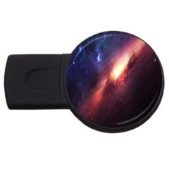 Digital Space Universe Usb Flash Drive Round (4 Gb)