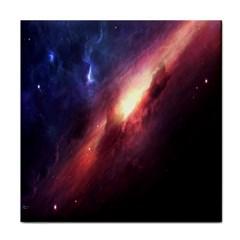 Digital Space Universe Face Towel