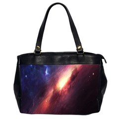 Digital Space Universe Office Handbags (2 Sides)
