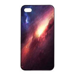 Digital Space Universe Apple Iphone 4/4s Seamless Case (black) by BangZart