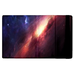 Digital Space Universe Apple Ipad 3/4 Flip Case by BangZart