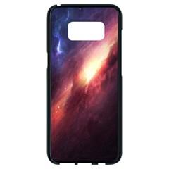 Digital Space Universe Samsung Galaxy S8 Black Seamless Case by BangZart