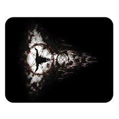 Dreamcatcher Double Sided Flano Blanket (large)