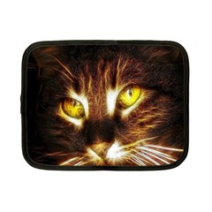 Cat Face Netbook Case (small)