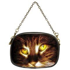 Cat Face Chain Purses (two Sides)