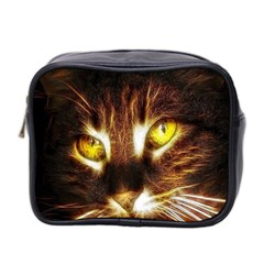 Cat Face Mini Toiletries Bag 2 Side
